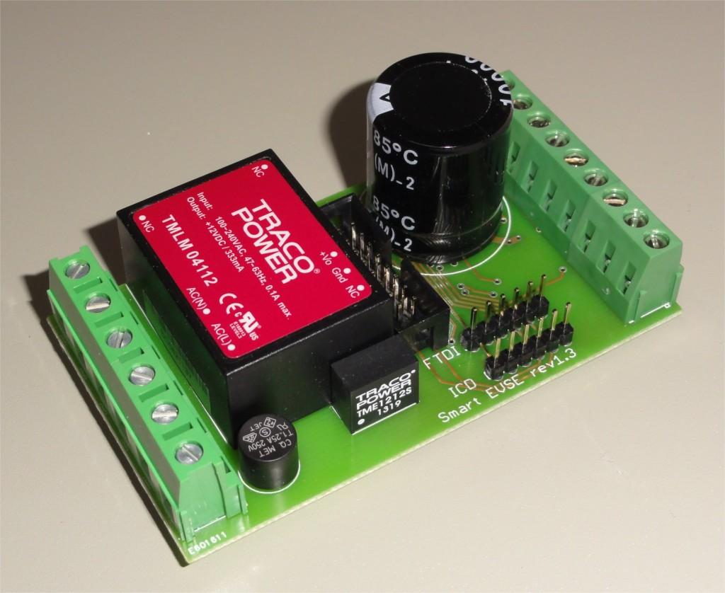 SmartEVSE PCB